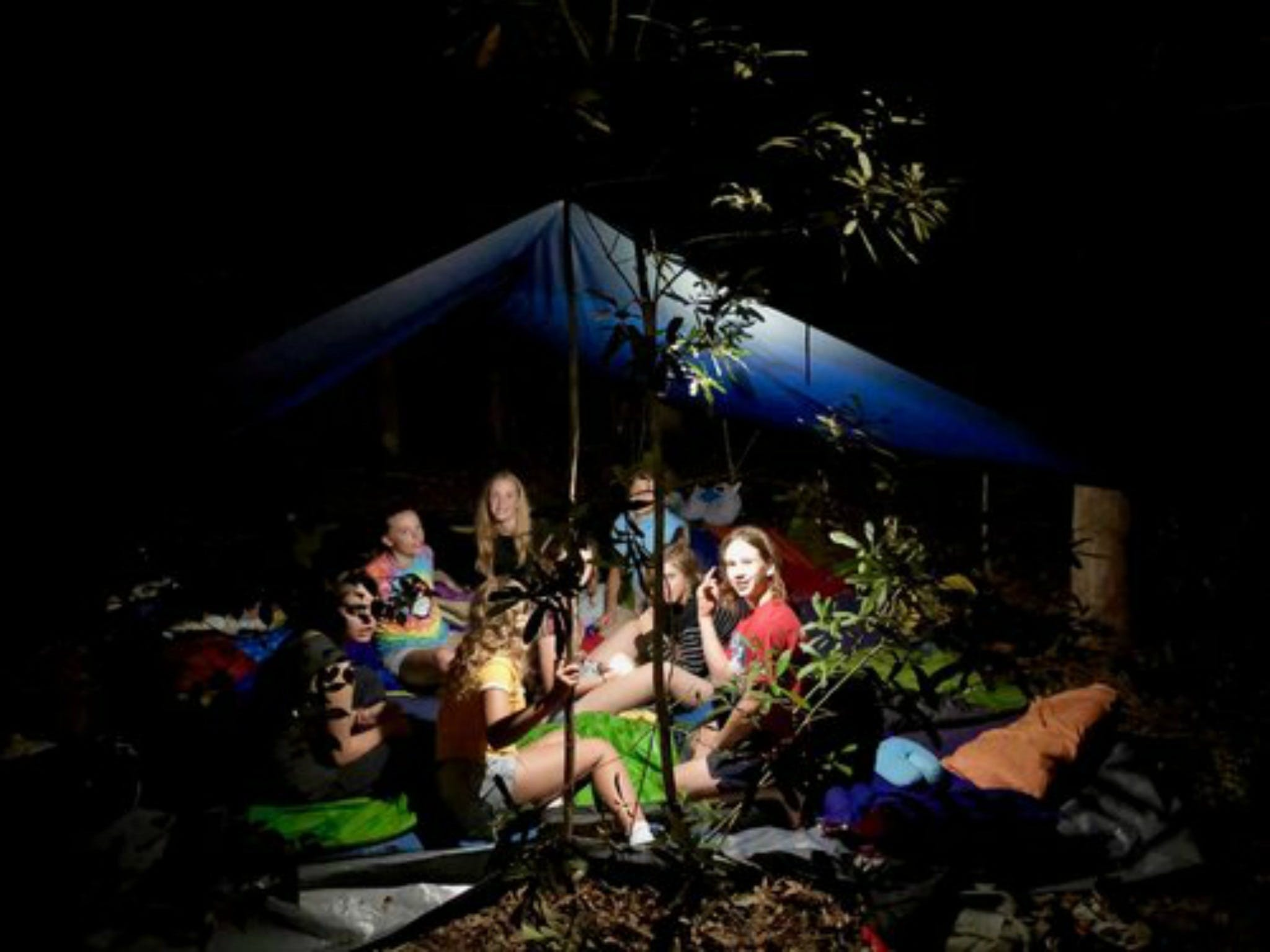 Summer  Family Nature Camp - QLD Tourism