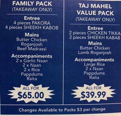Taj Mahal Indian Restaurant - QLD Tourism