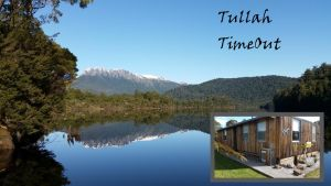 Tullah TimeOut - QLD Tourism