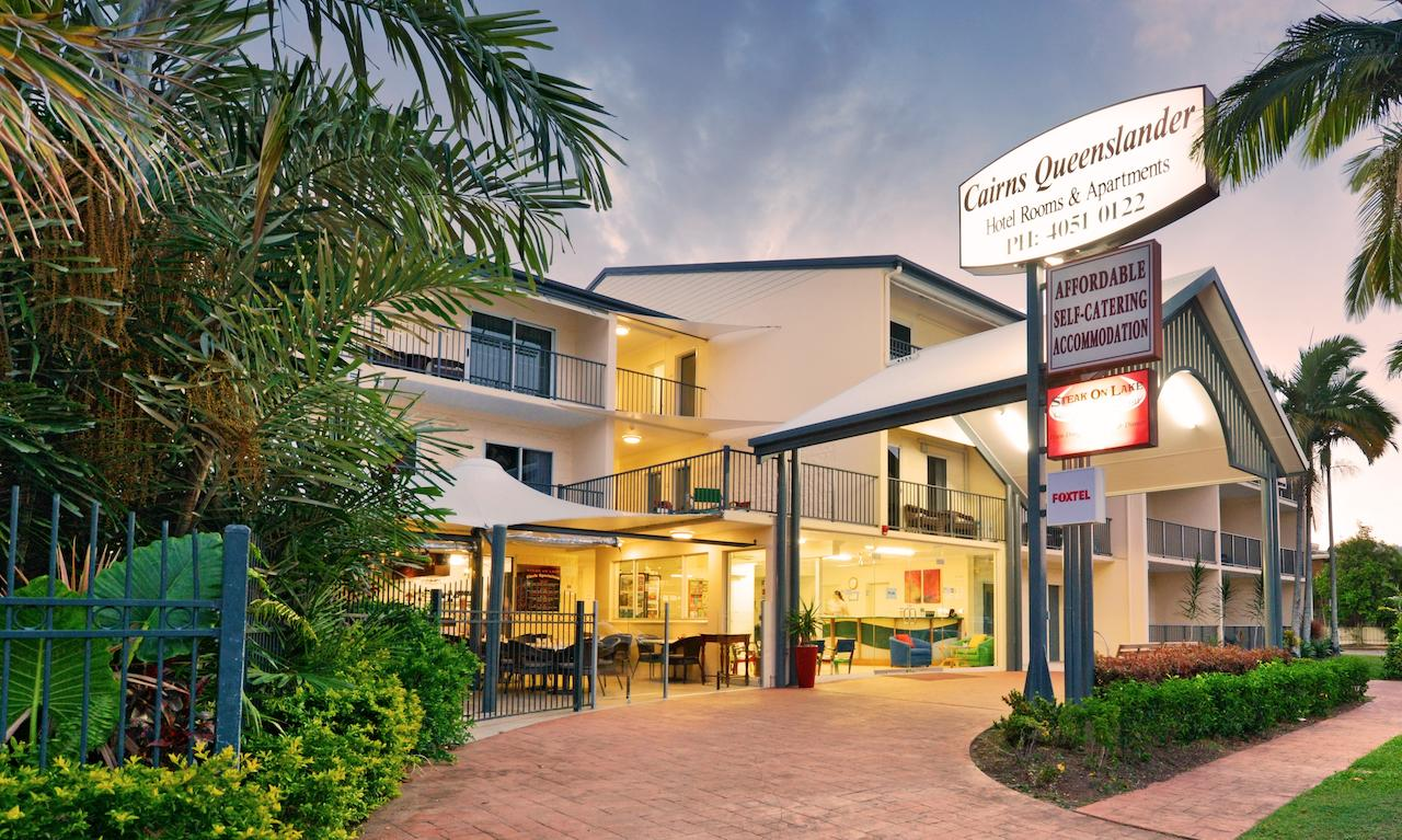 Cairns Queenslander Hotel  Apartments - QLD Tourism